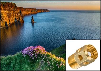 brass part Ireland