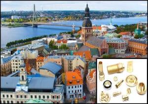 Brass Parts Manufacturer in Latvia