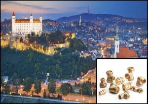 Brass Parts Supplier in Slovakia