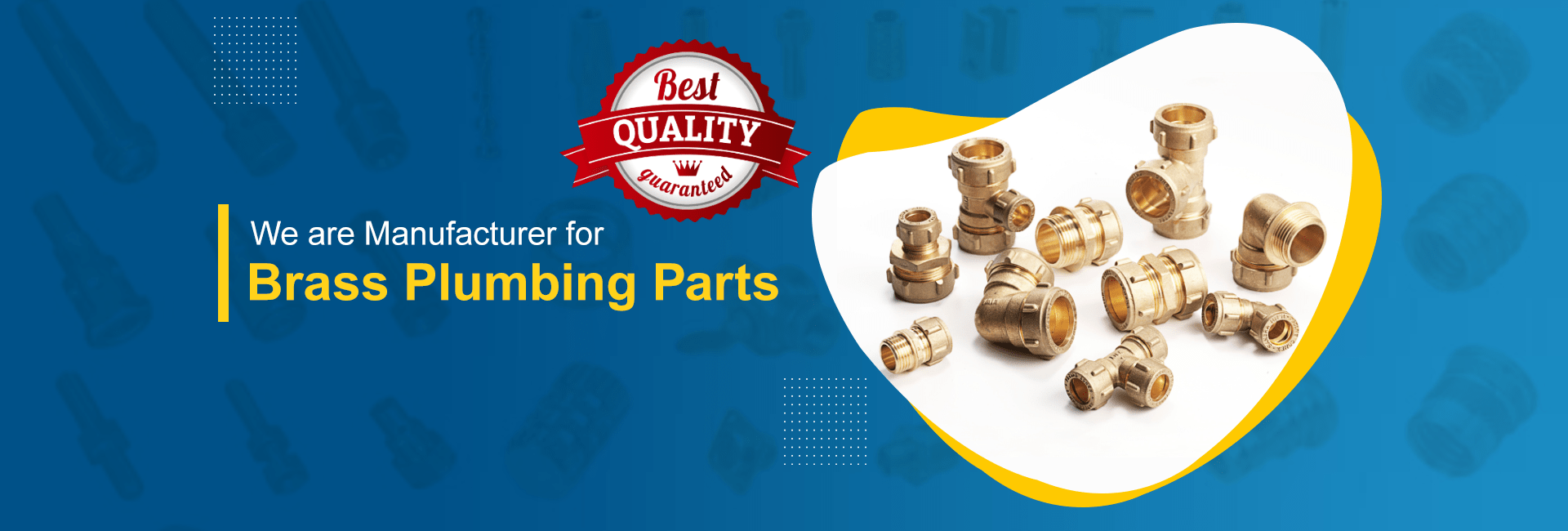 Brass Fittings and components Manufacturer in Jamnagar